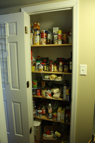 Pantry in progress