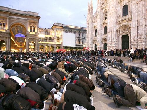 Milano, Piazza Duomo, 3. Januar 2009