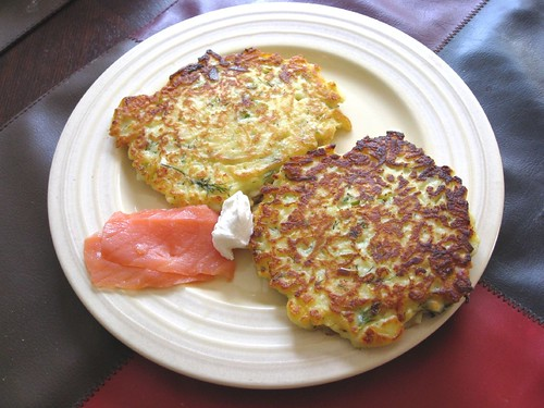Apples and Feta Fritters