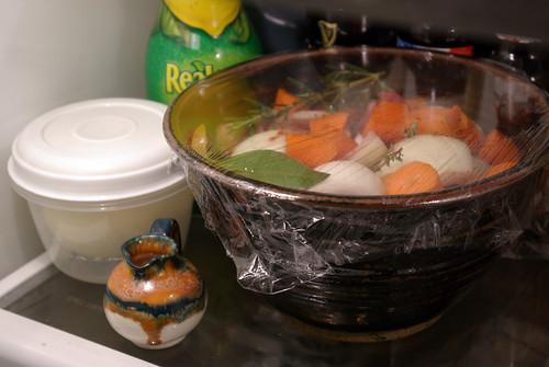 marinating daube
