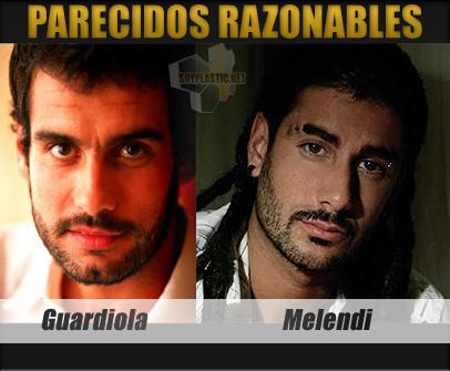 Parecidos Razonables: Guardiola y Melendi