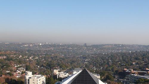 Overlook Jo'sburg from hotel room