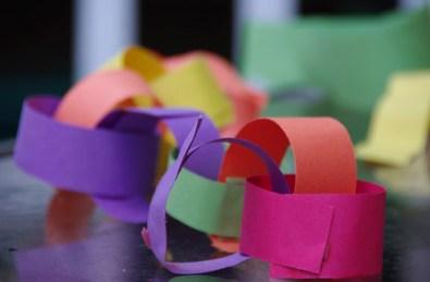 paper chain...