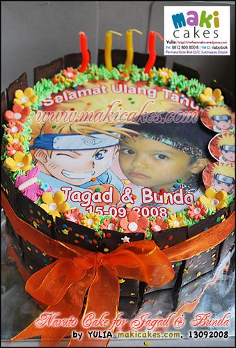 Naruto Cake for Jagad & Bunda - Maki Cakes