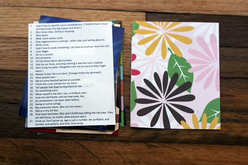 27 Things minibook: the list