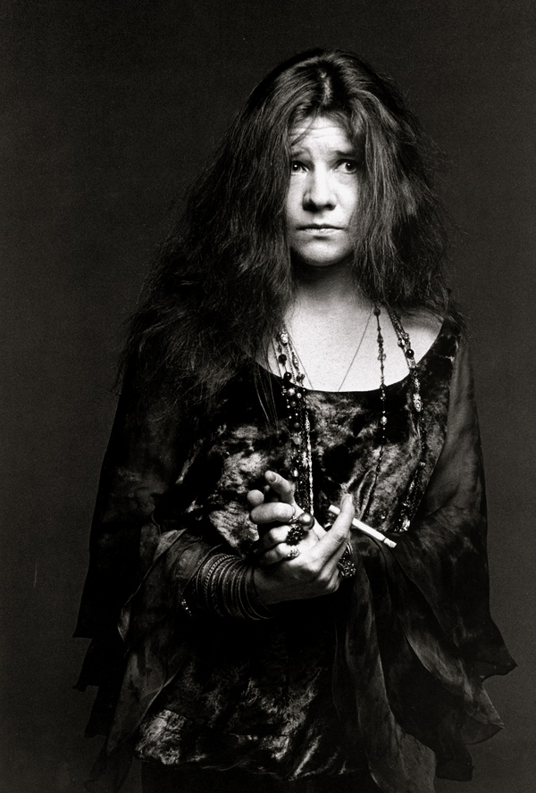 Janis Joplin, la eterna niña triste... en busca de un pedazo de corazón, de una lluvia de hombres que sepan amar...