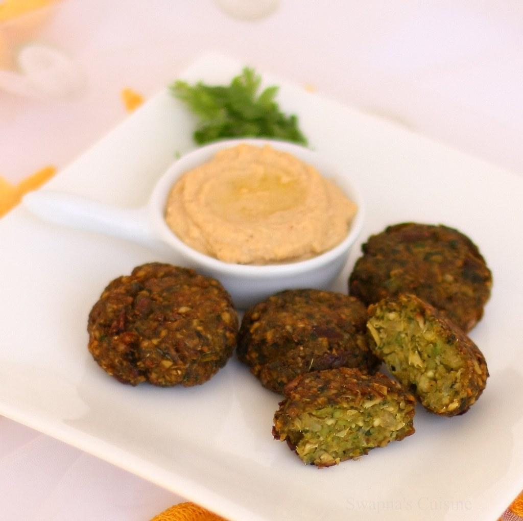 Swapnas Cuisine Falafel With Hummus
