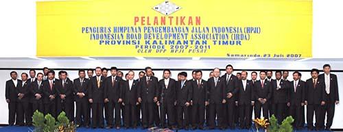 Pelantikan Periode-3/2007-2011