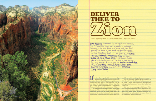 Zion Feature Design