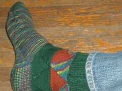 Magical Mystery Tour Socks - Sock 1 Done