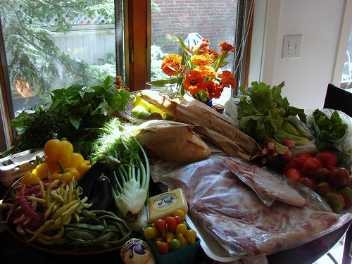Farmers' Market Haul, 8/16/08