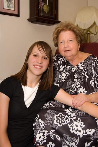 Breanna & Grandma Snow