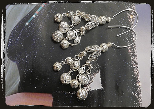Orecchini argento - Silver earrings MEHIFIL