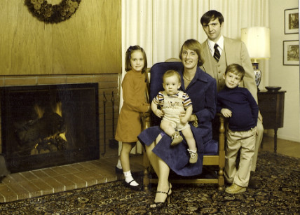Family Photo - Goleta, CA 1979ish