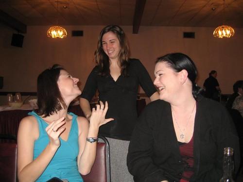 Karen, Mir, Megan