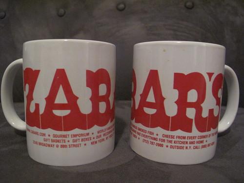 Zabar's mugs