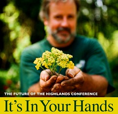 FEATURED EVENT:  On Saturday, in Ashfield, MA, friends and neighbors from across the region are invited to the Highland Communities Initiative's (HCI) fifth biennial conference to celebrate the Highland's rural nature and to share ideas from area residents that may hold the keys to its future.  Click on image for more info.