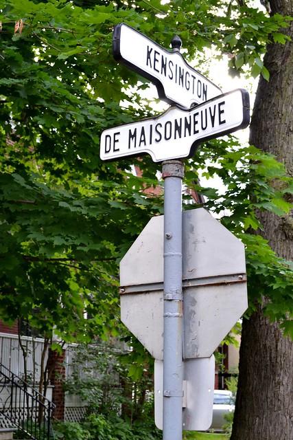 Westmount Cross Streets