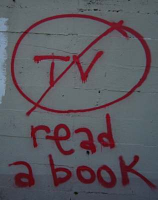 No Tv / read a book
