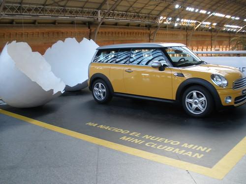 En la estacion de Atocha de Madrid ha nacido el Nuevo Mini