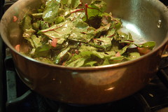 cooking beet greens-1