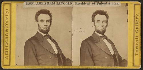 Hon. Abraham Lincoln, President of the United States (LOC)