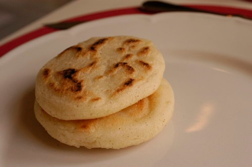 arepas - these were fresh from the oven