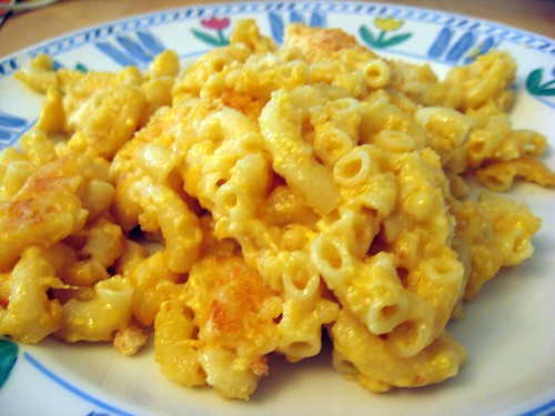 Mac and Cheese Plated