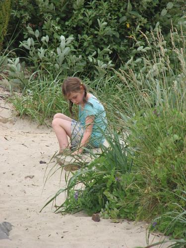 Dorothy at creek
