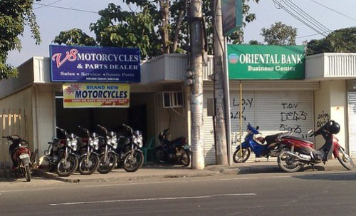 V8 Appliances Motorcycle Parts Dealer Showroom Mandaue
