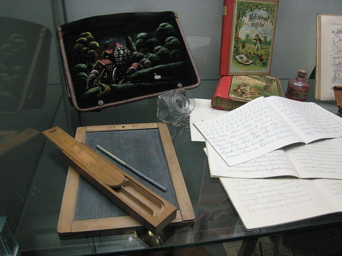 school material for czech children from the 19th century