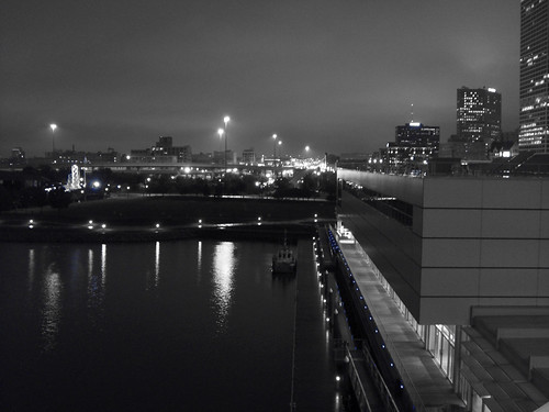 Nightfall in Milwaukee