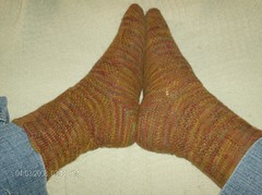 Tumbling into Madness Socks