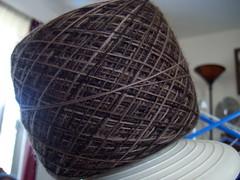 100PureWool.com Merino Lace~ Chocolate