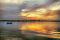 Sunrise at SK Sungai Melayu