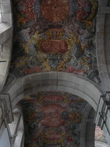 Frescos de Nicolau Nasoni, na Sé de Lamego