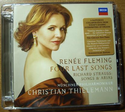 R. Strauss: Vier letzte Lieder/ Lieder/ Arien by Renée Fleming/ Christian Thielemann/ Münchner Philharmoniker with a SACD casebox