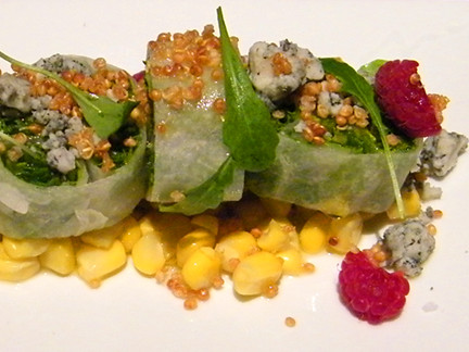 Organized Arugula Salad, MyLastBite.com