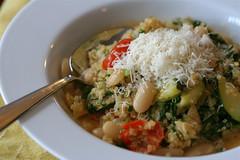 Warm Quinoa and White Bean Salad 2