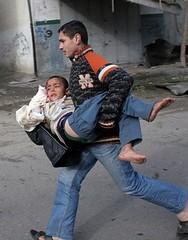 'An injured Gazan terrorist' by freegazaorg