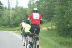 Roland riding between two German Speeders