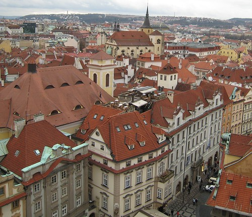 Rooftop Patio in Prague