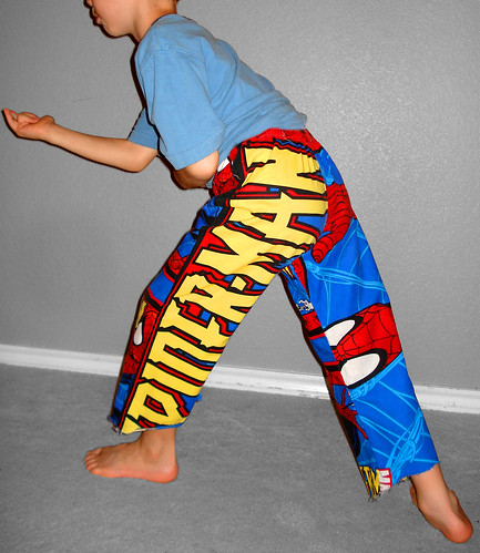spiderman pants
