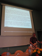 Antero Aunesluoma presents at WikiFest