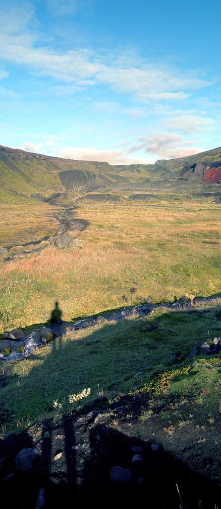 the sandar area on the laugavegur in iceland