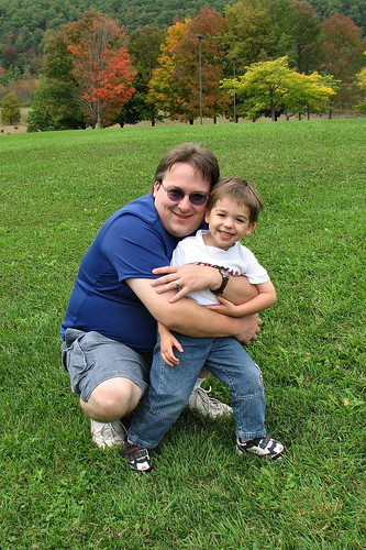 Bug and Daddy, Gilboa Dam