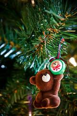 teddy bear w/ ornament