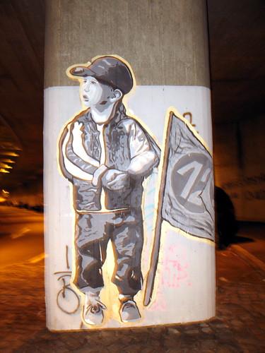 Futbol street art
