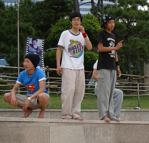 Parkour in Haeundae