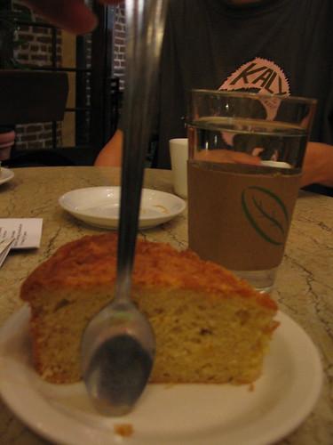 coconut corn cake